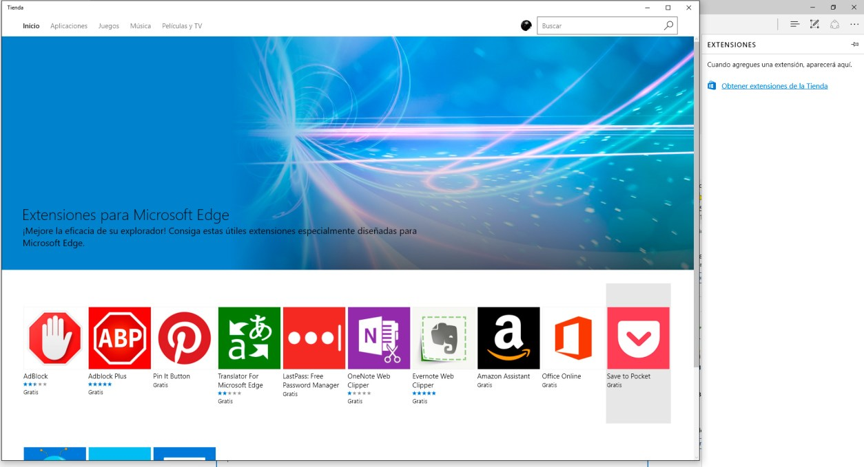 extensiones-edge-windows-10