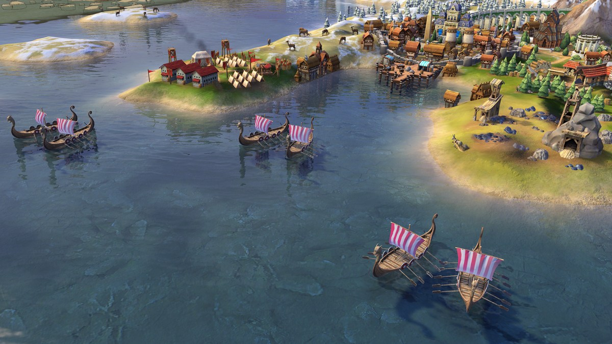 Harald Haardrade noruega civilization vi 2
