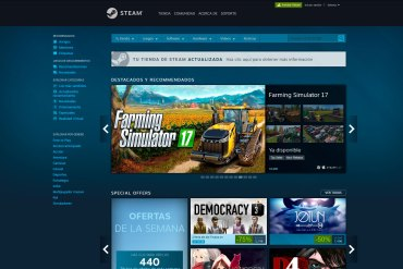 Steam actualizacion tienda 2