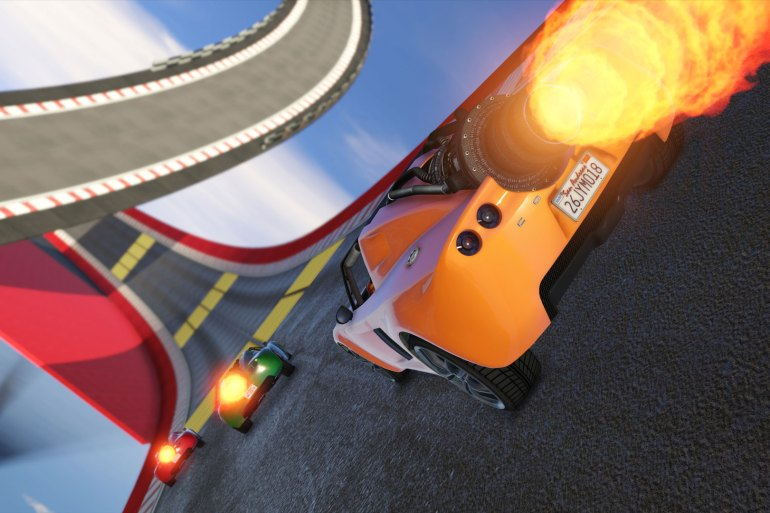 Cunning Stunts Circuito especial