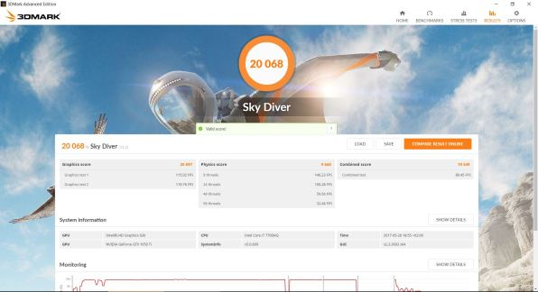 MSI GE62 7RE Apache Pro Análisis Sky Diver
