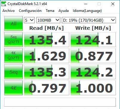 MSI GE72 Apache Pro - CRYSTALDISKMARK HDD