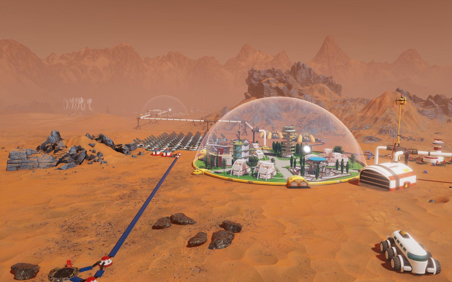 desarrollo de Surviving Mars