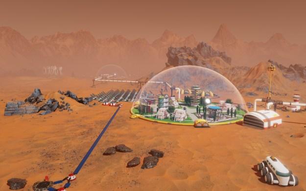desarrollo de Surviving Mars