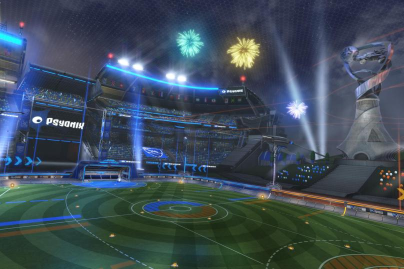 actualización aniversario de Rocket League