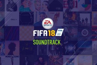 banda sonora de FIFA 18