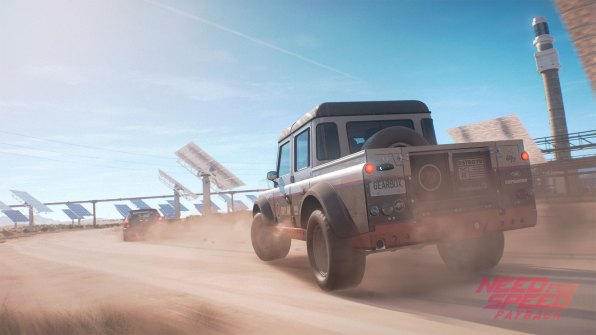 mundo abierto de Need For Speed Payback