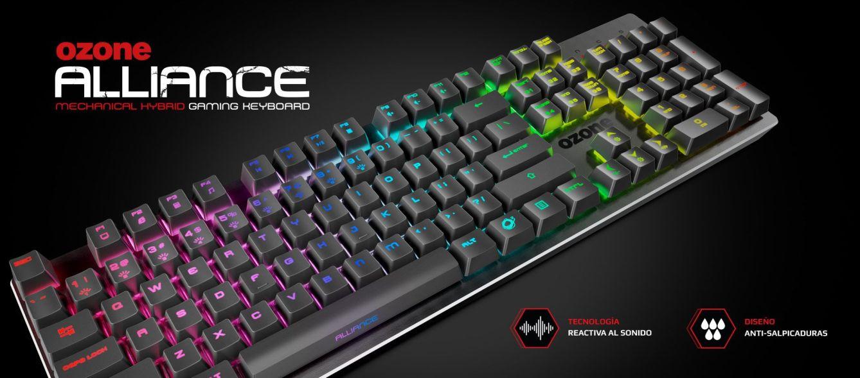 Alliance es el nuevo teclado híbrido