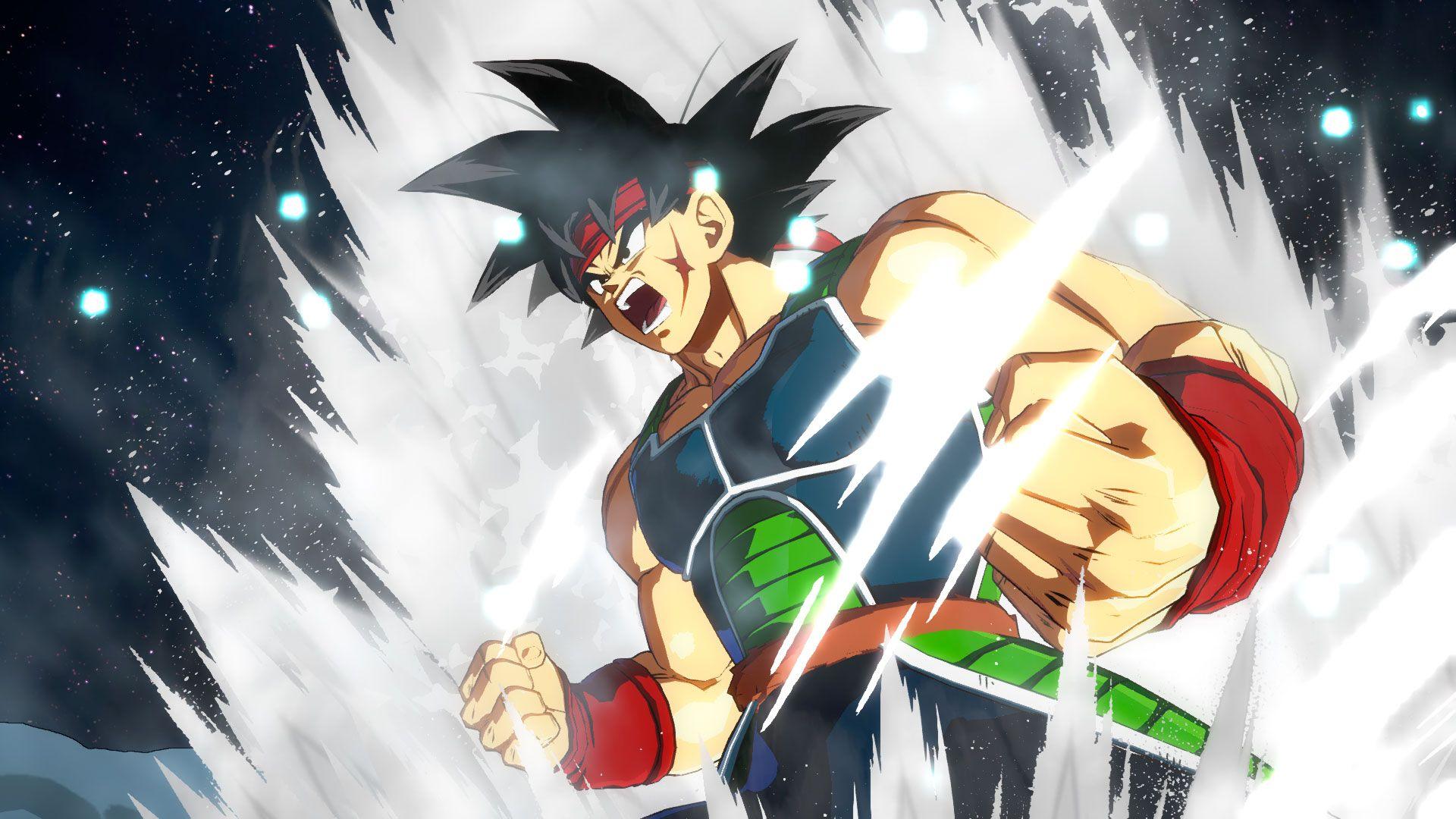 Bardock y Broly de Dragon Ball FighterZ