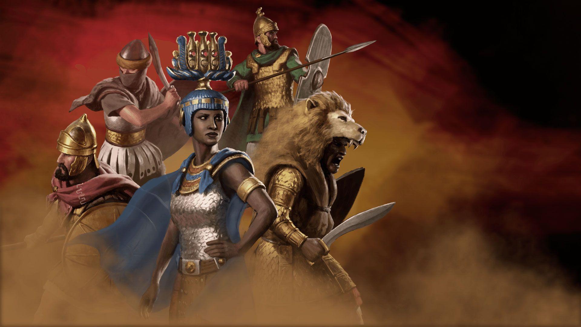Reinos Desérticos de Total War: ROME II