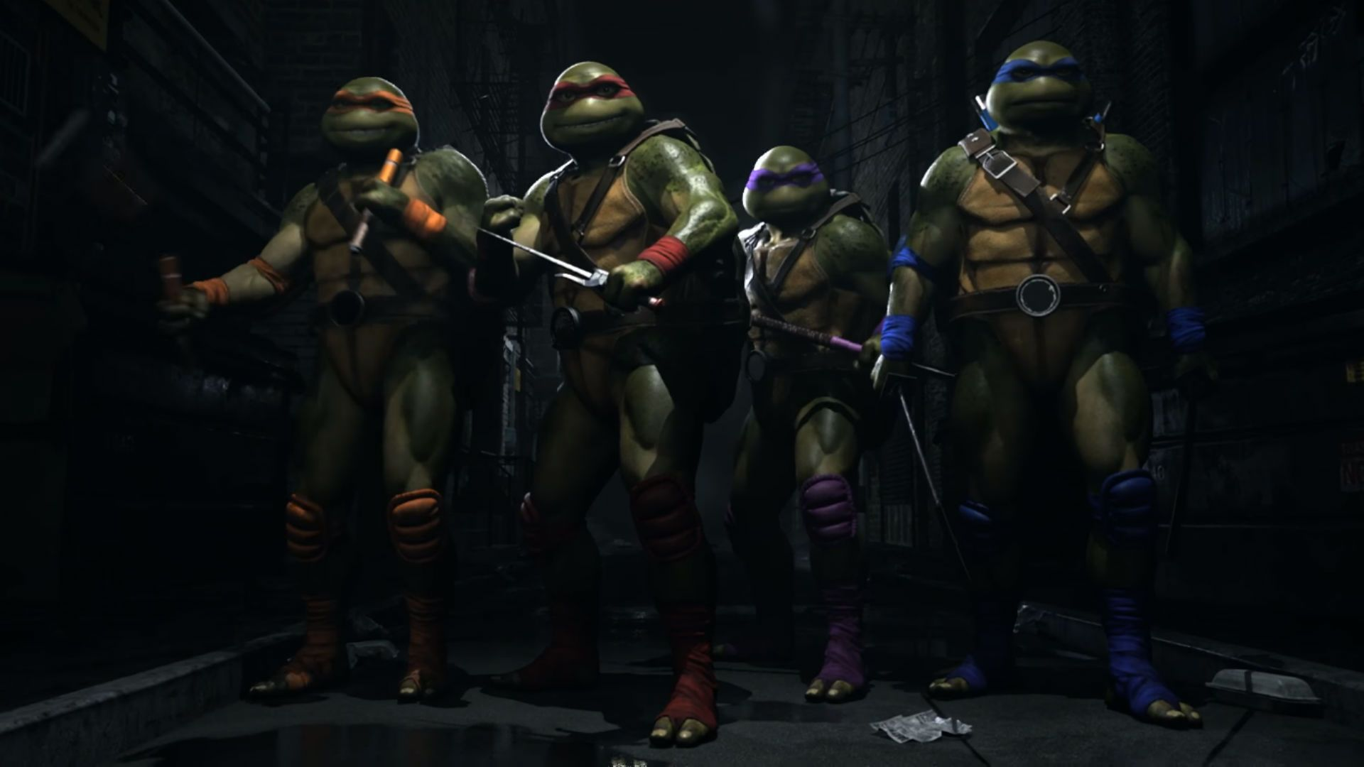 Las Tortugas Ninja estarán disponibles en Injustice 2