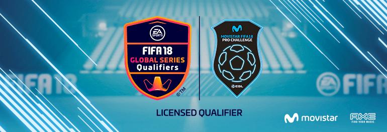 Movistar FIFA 18 ESL Pro Challenge - Banner