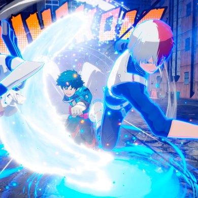 sistema de juego de My Hero One's Justice