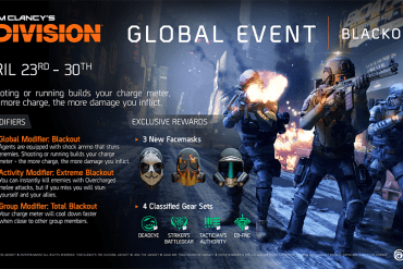 evento Apagón de The Division