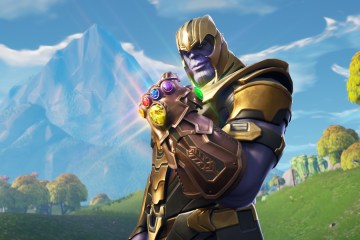 crossover de Avengers Infinity War y Fortnite