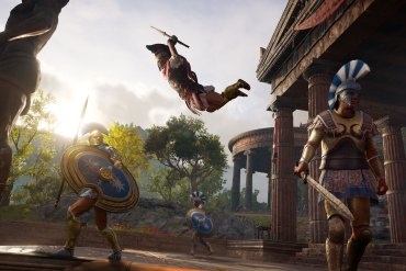 tráiler de lanzamiento de Assassin's Creed Odyssey