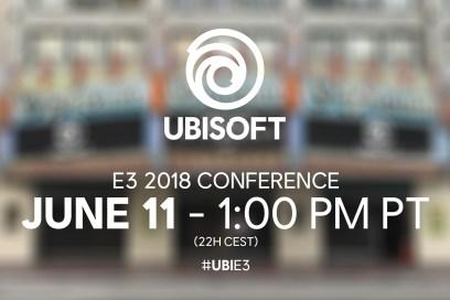 conferencia de Ubisoft en el E3 2018
