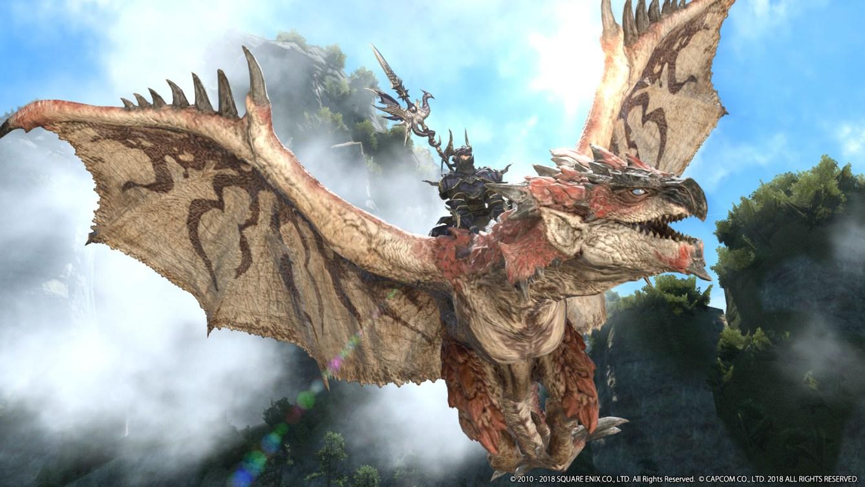 colaboración con Monster Hunter: World