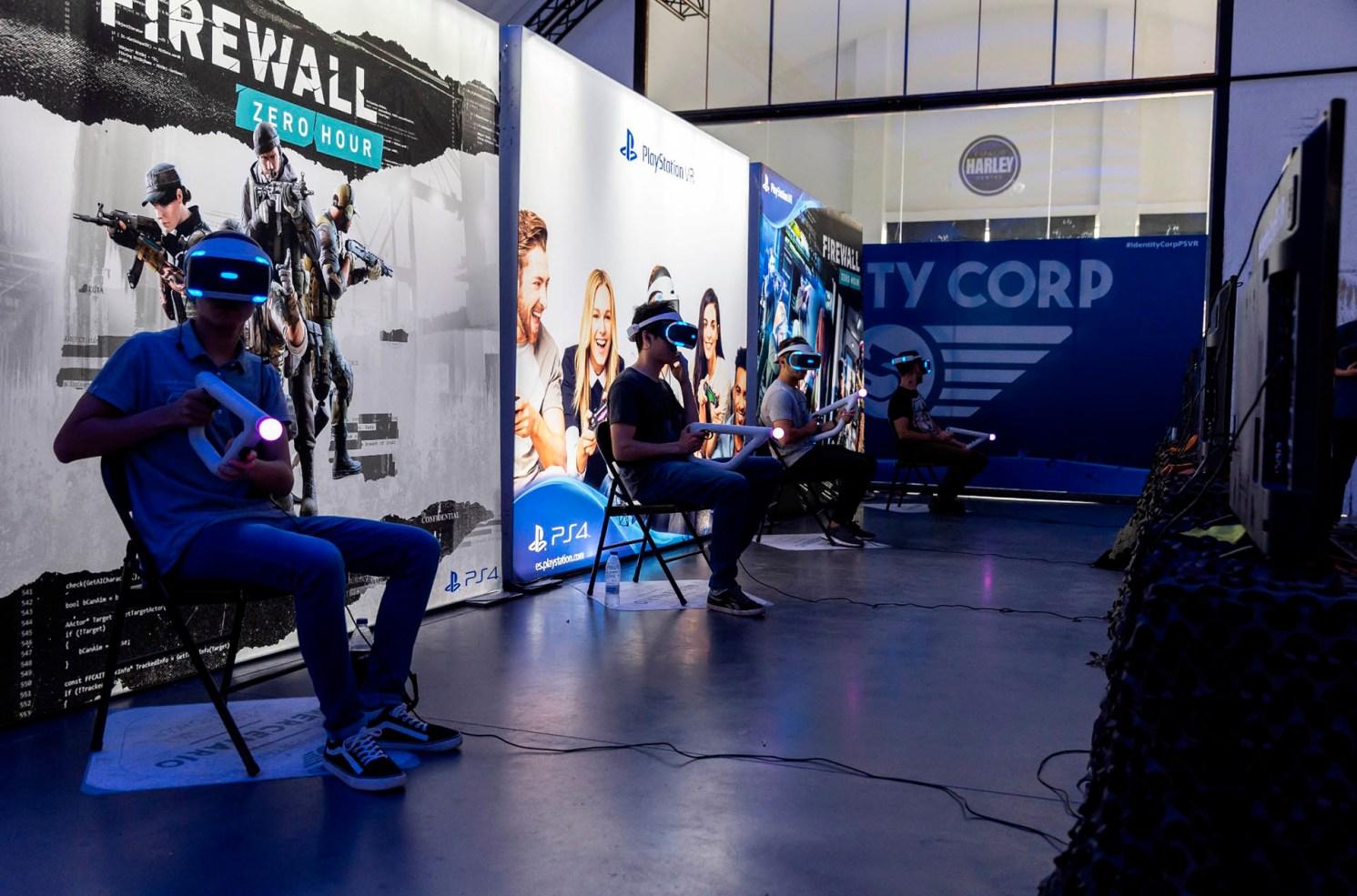 Identity Corp PlayStation VR