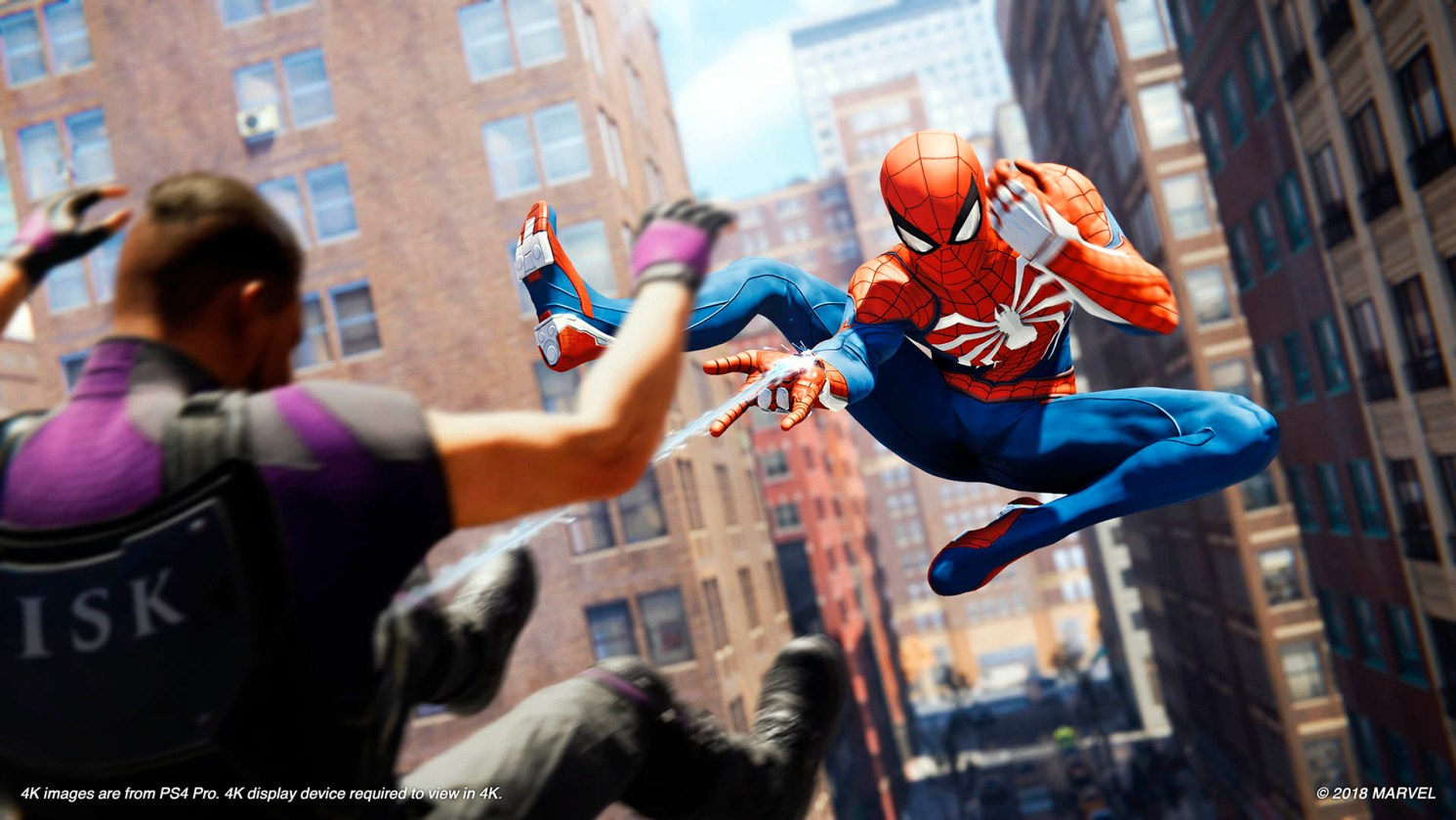 lanzamiento de Marvel's Spider-Man