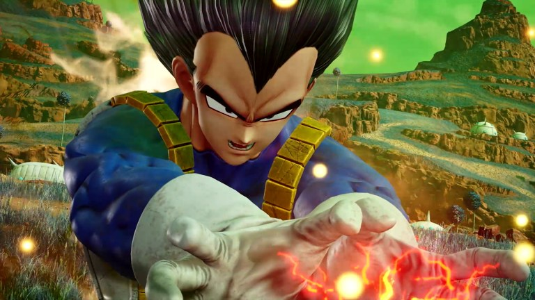 Goku, Vegeta y Freezer