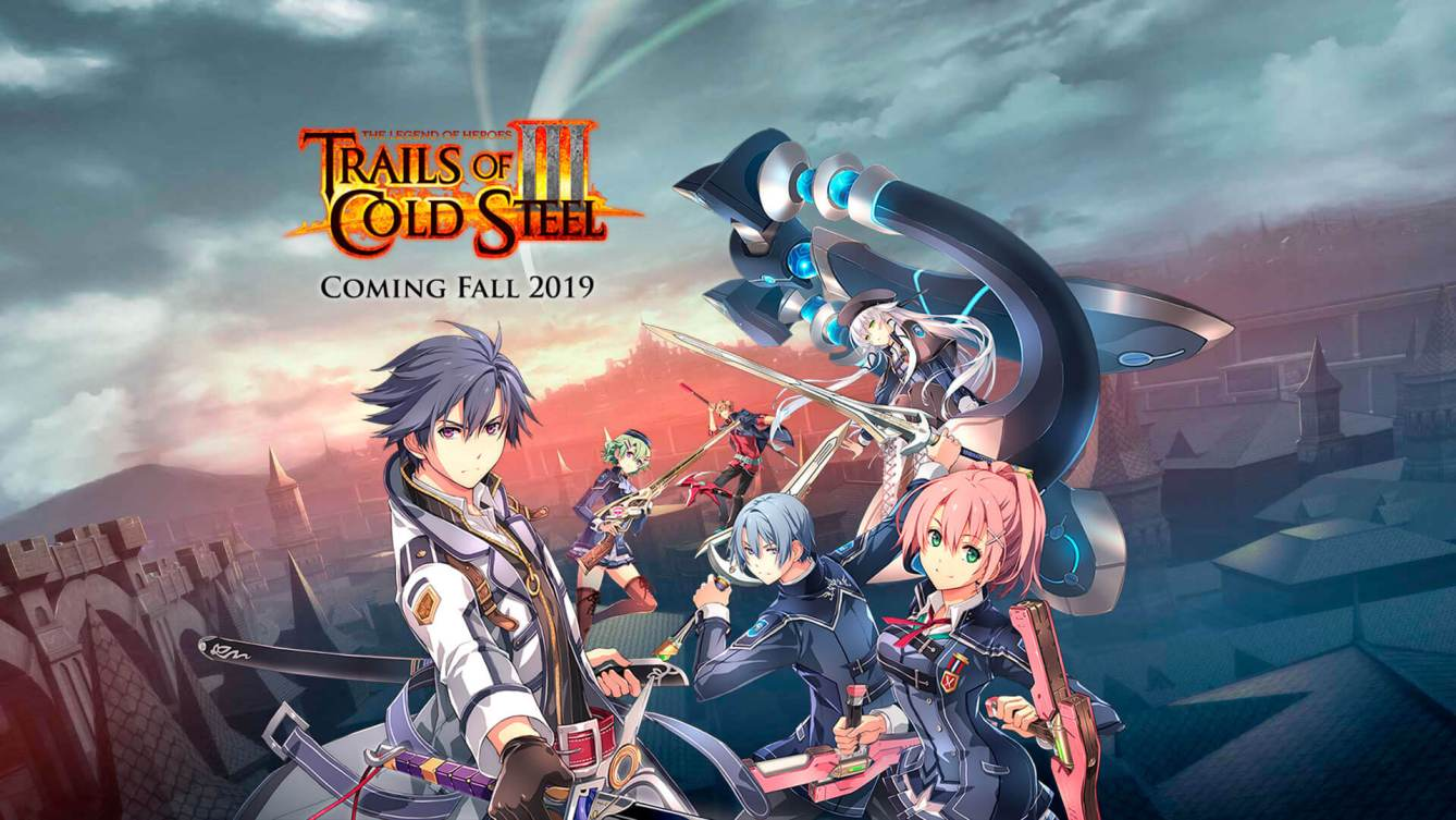 The Legend of Heroes Trails of Cold Steel III Anuncio