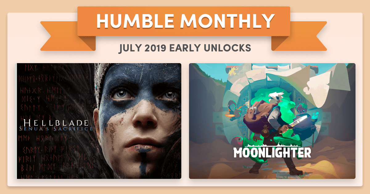 Humble Monthly Bundle de julio 2019