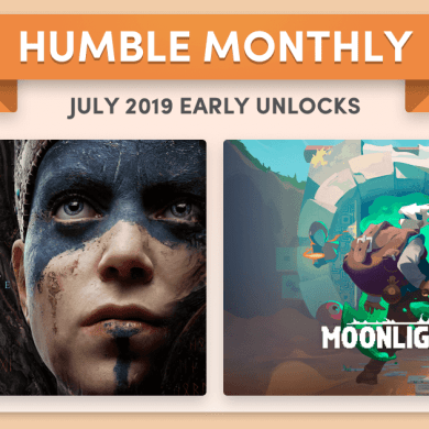 Humble Monthly Bundle de julio 2019
