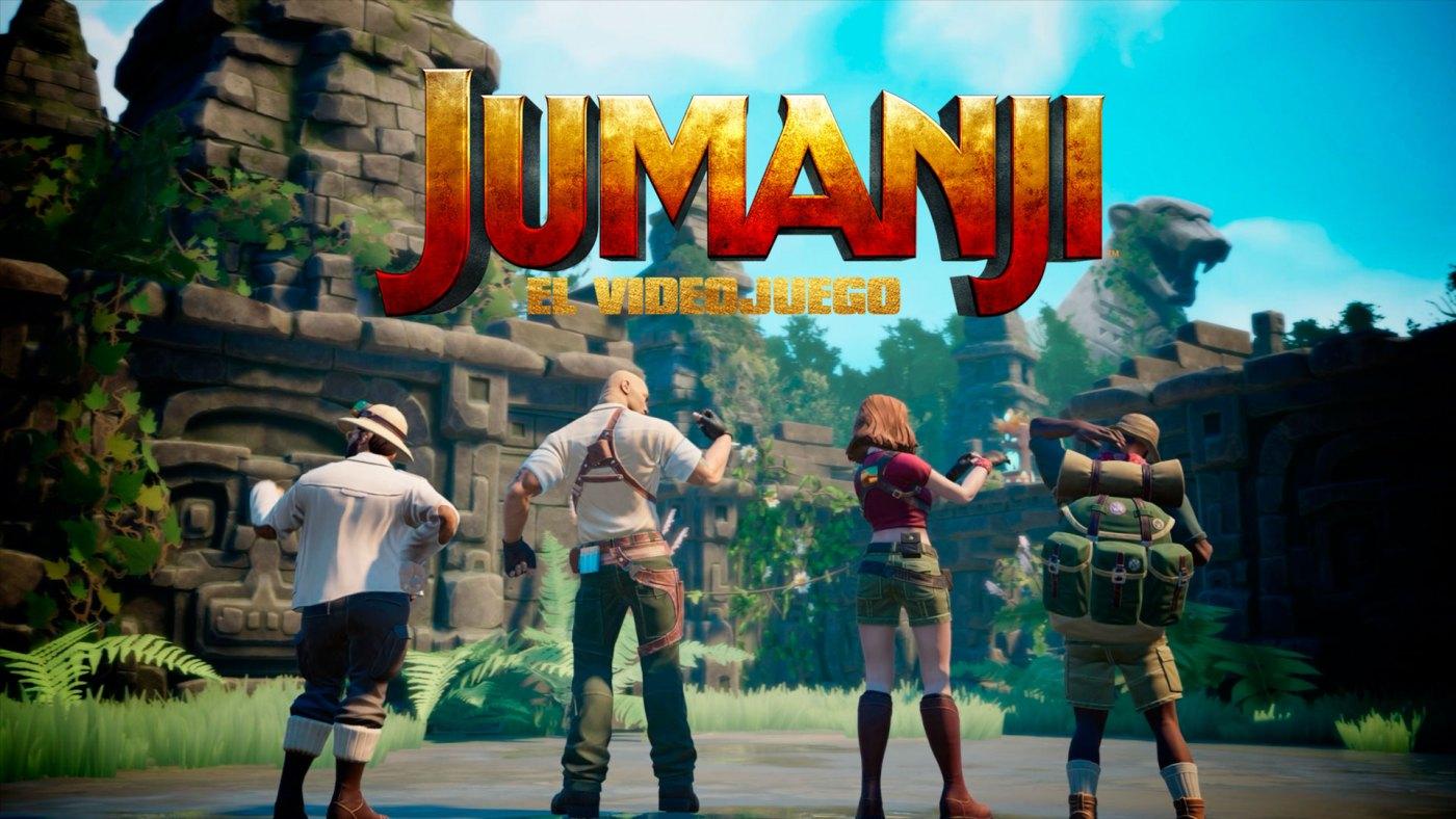 Jumanji El videojuego Anuncio 1