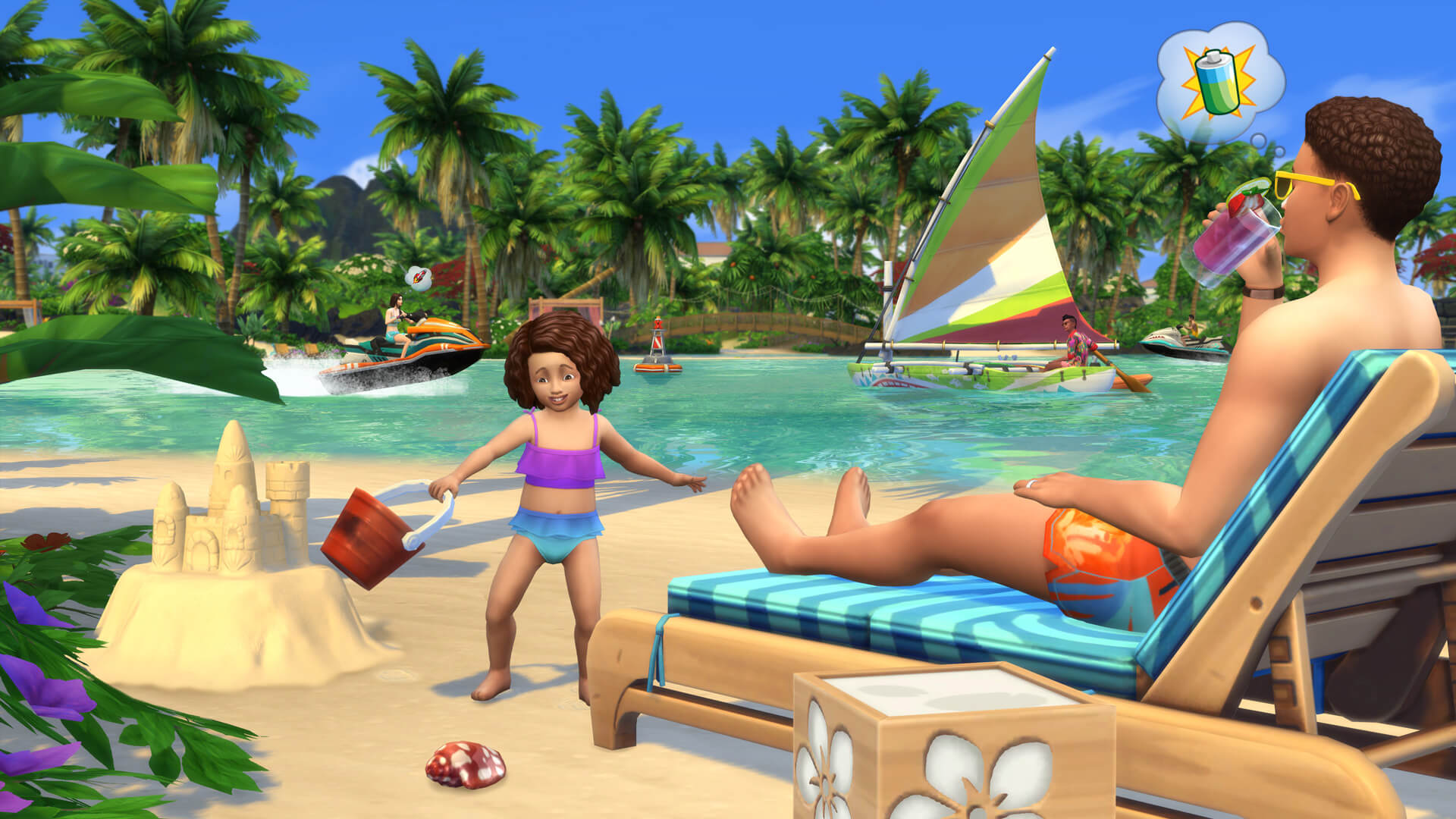 Los Sims 4 Vida Isleña Anuncio 3