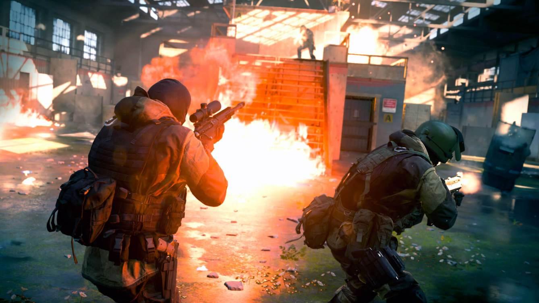 Call of Duty Modern Warfare Modo 2vs2