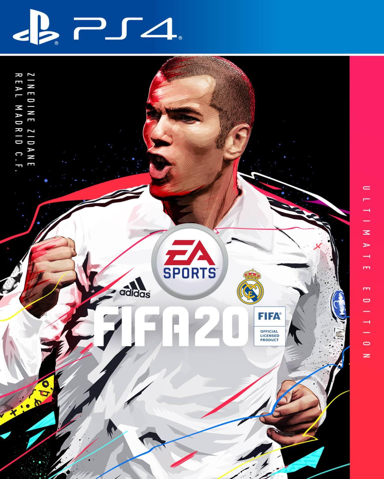 FIFA 20 Portada edición Ultimate