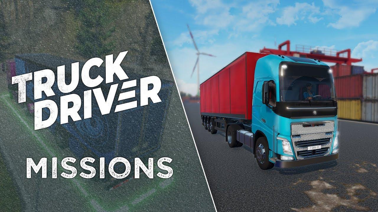Truck Driver Trabjos y misiones