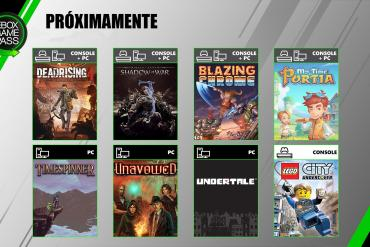 Xbox Game Pass en julio 2019