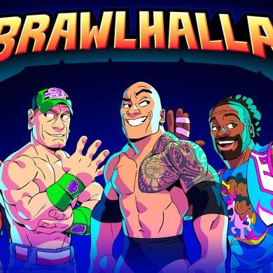 WWE llegan a Brawlhalla