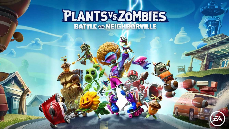 Plants vs Zombies La Batalla de Neighborville Art
