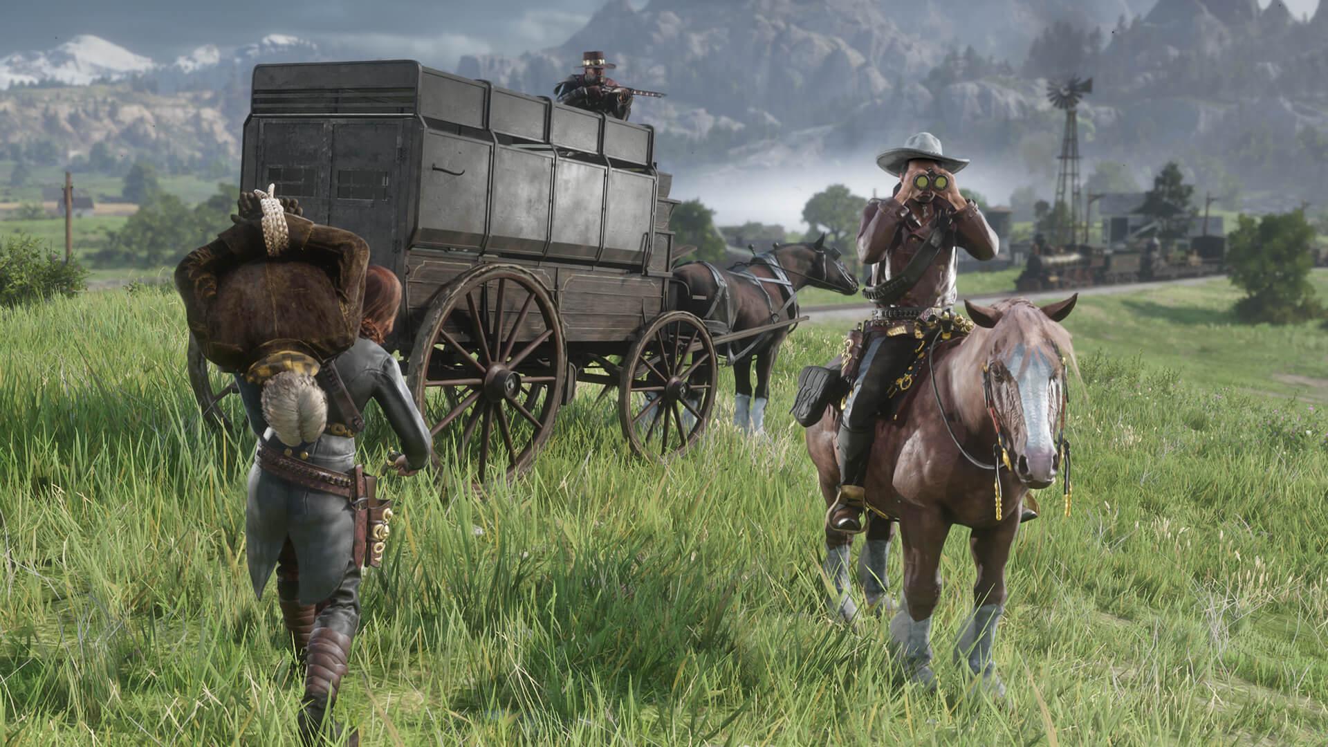Red Dead Online Roles Cazarrecompensas 2