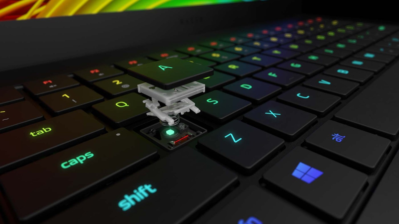 Razer teclado óptico para portátiles 2