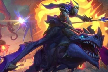 Hearthstone El Descenso de los Dragones Anuncio