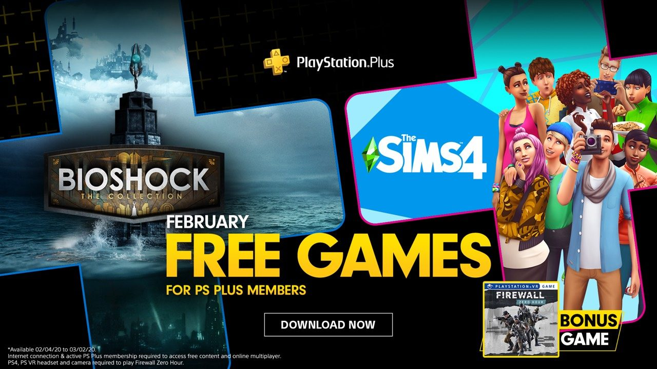 PlayStation Plus Febrero 2020