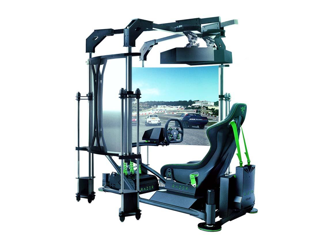 Razer eRacing Simulator Anuncio 2