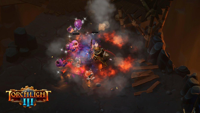 Torchlight III Anuncio