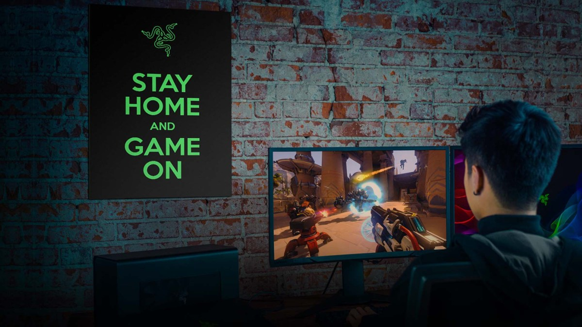 Razer 'Game-On' Poster