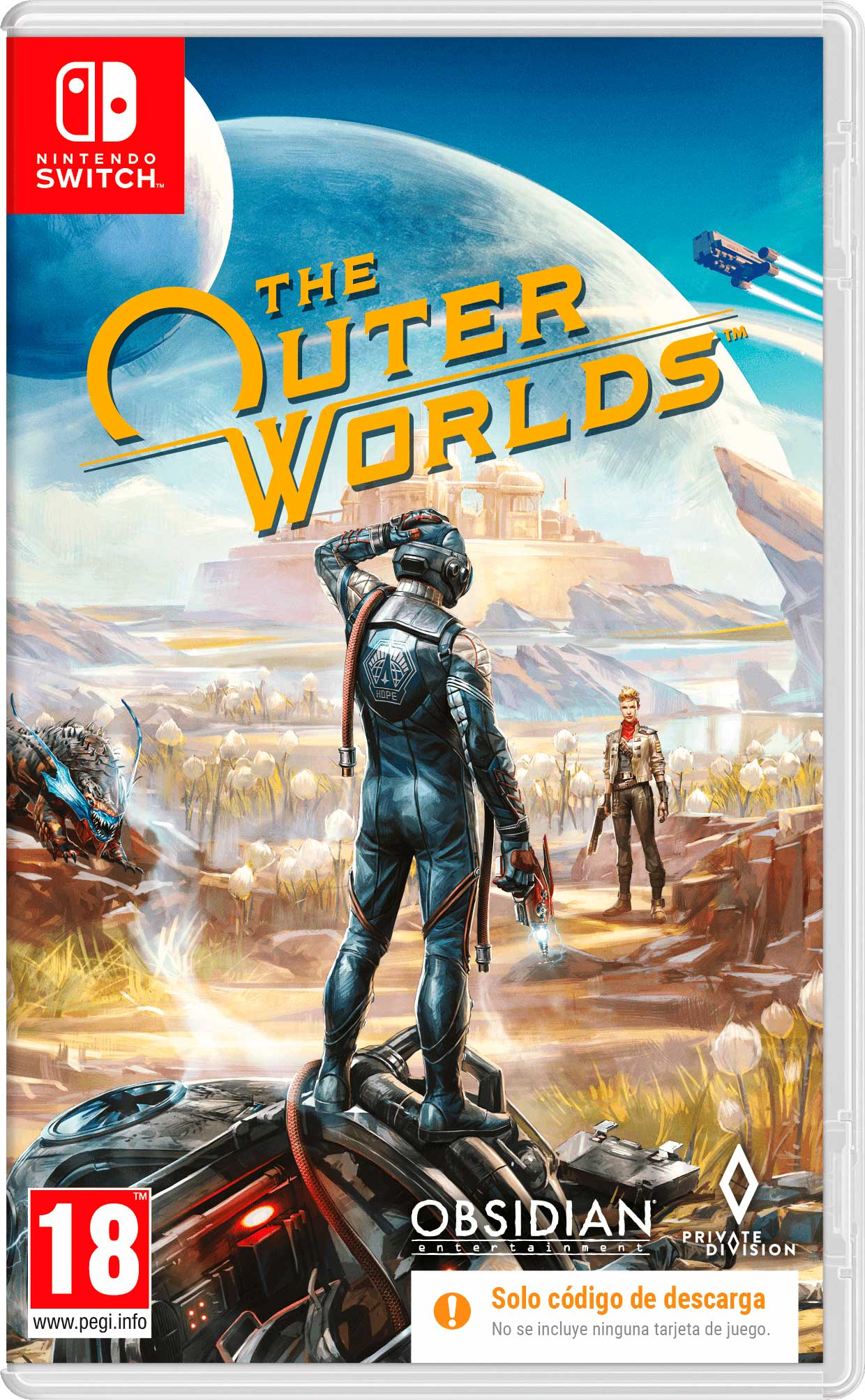 The Outer Worlds Nintendo
