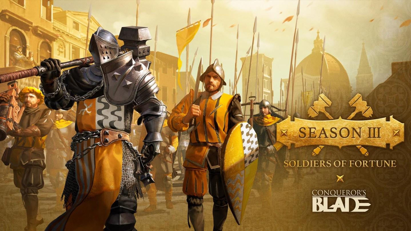 Season III: Soldiers of Fortune