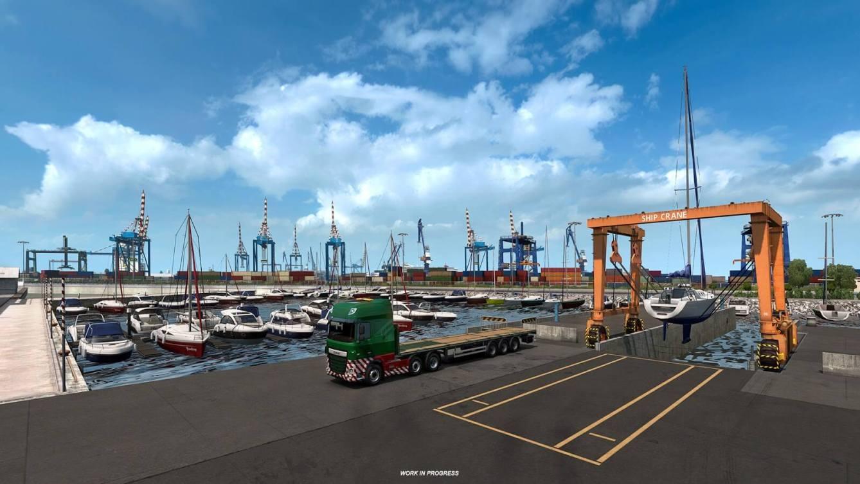 Euro Truck Simulator 2 Iberia Puertos 2