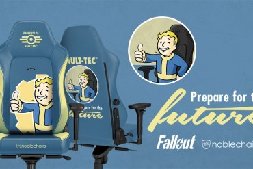 Noblechairs Bethesda Softworks Fallout Vault-Tec