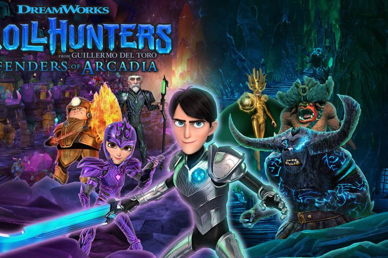 DreamWorks Trollhunters Defenders of Arcadia Art