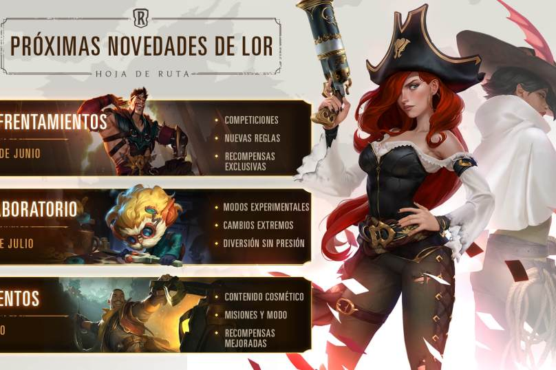 hoja de ruta Legends of Runeterra