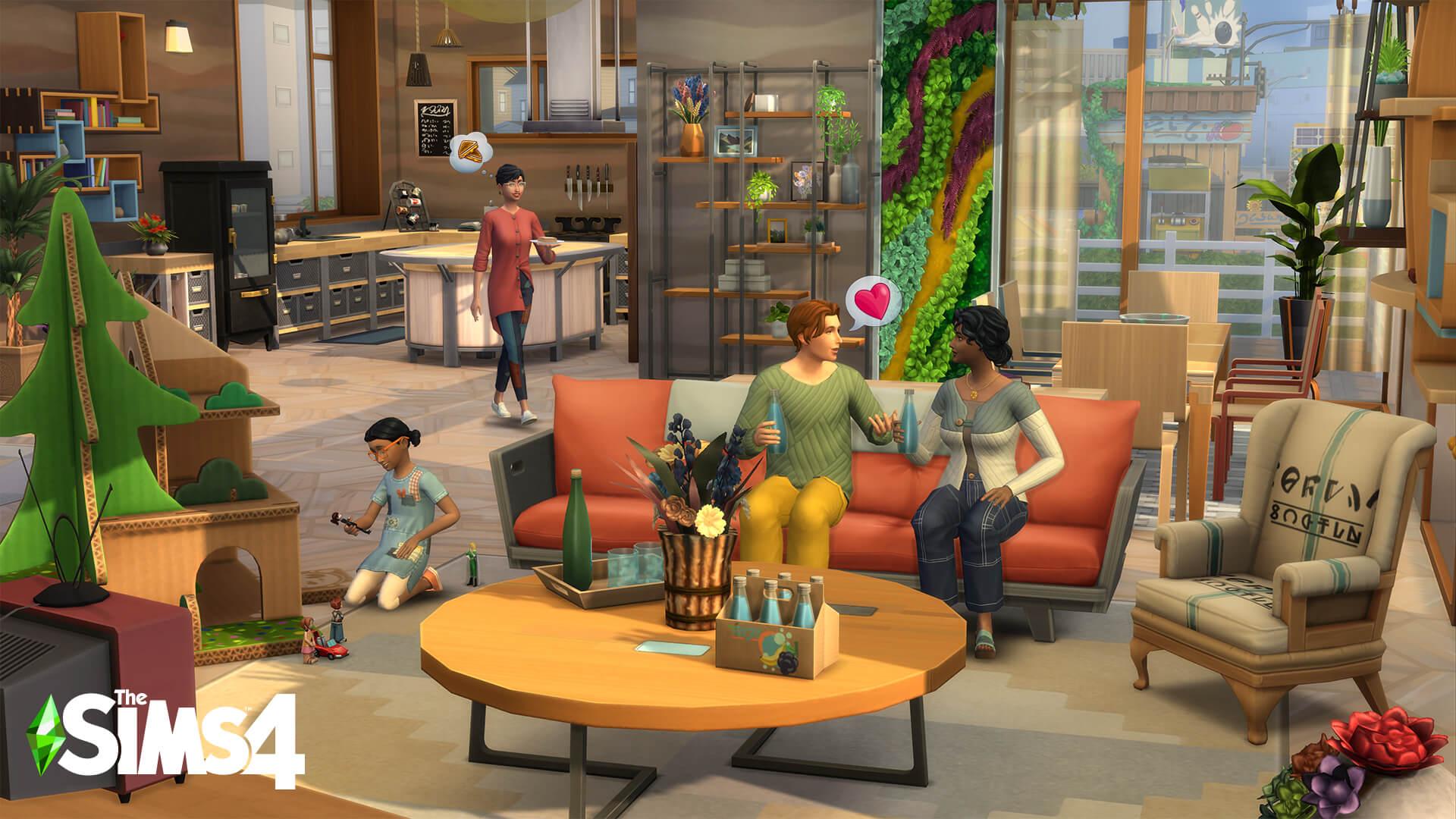 tráiler Los Sims 4 Vida Ecológica